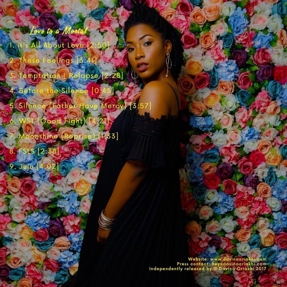 "BellaNaija - #LTAM: Davina Oriakhi drops Debut LP ""Love To A Mortal"" | Listen on BN"