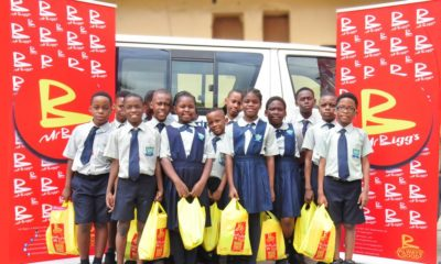 Salvation International School Pupils take a Tour of Mr Bigg's