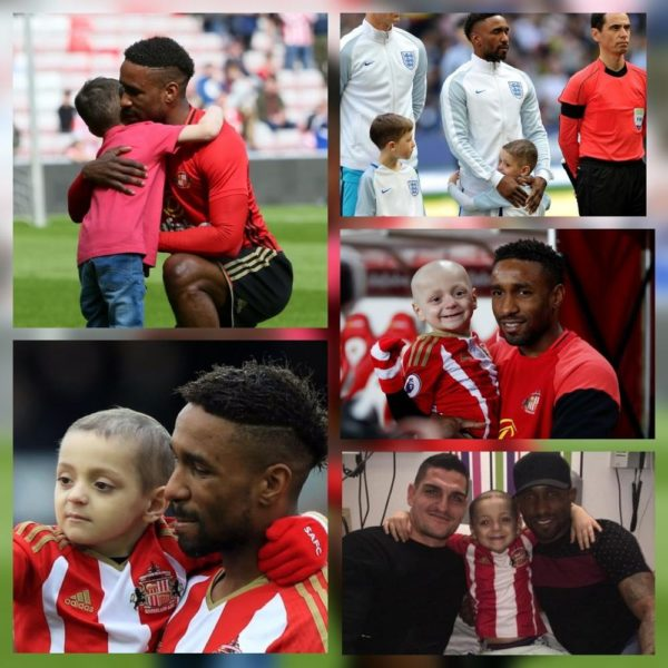 """Sleep tight little one""- Defoe writes Heartfelt Tribute Bradley Lowery"