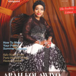 Diva at 75 Abah Folawiyo is on the cover of Vanguard Allure (1)