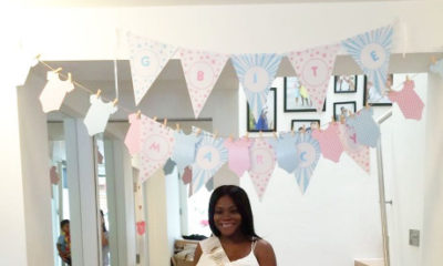 Dolapo Oni baby shower Bella Naija.