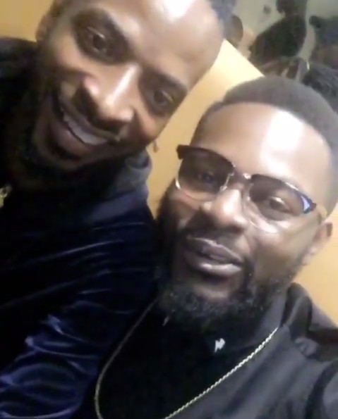 Falz and 9ice have Dinner together, Squash Beef