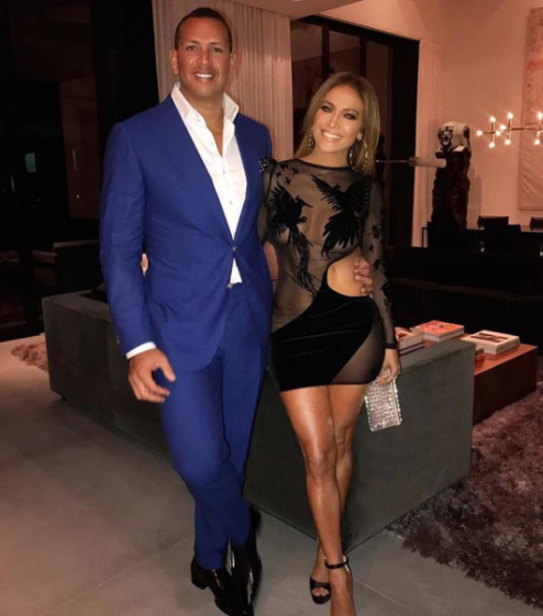 Love Birds💕 JLo and Arod Share Photos from Joint Birthday Celebration