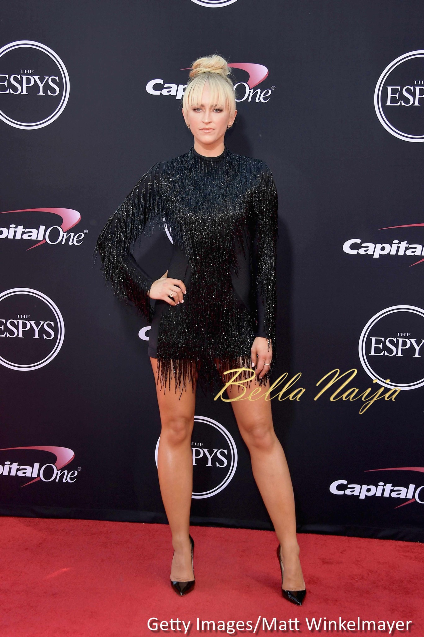 BellaNaija - Michael Phelps, John Cena, Laurie Hernandez... Photos from The ESPY Awards 2017