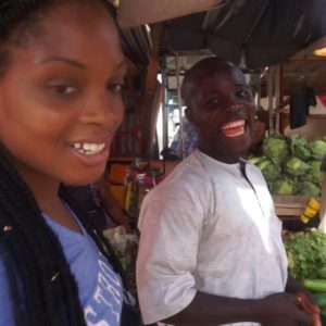 Go on a Nigerian Food Market Tour and Watch How to shop on a Budget by NazomsCorner BN Cuisine