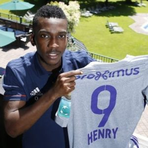 Congratulations! Nigerian youngster Henry Onyekuru wins First Major Trophy with Anderlecht