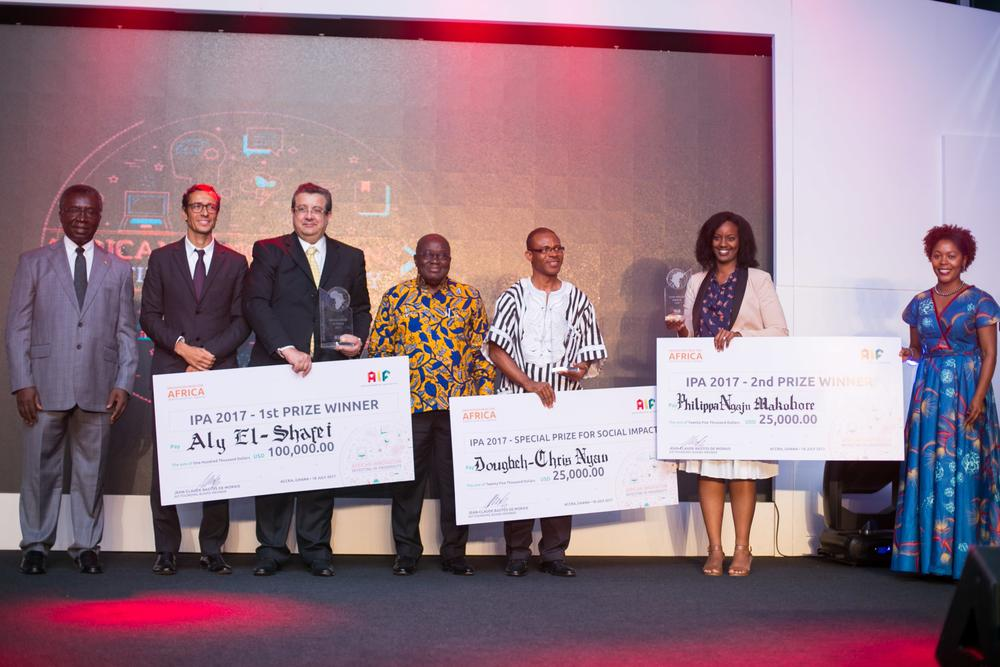 Egyptian Aly El-Shafei wins Innovation Prize for Africa