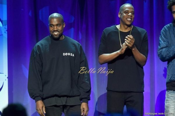 BellaNaija - Kanye West reportedly splits from JAY-Z's TIDAL