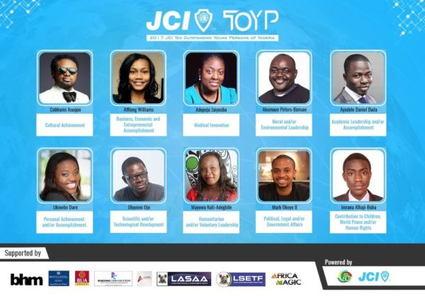 Meet JCI's Ten Outstanding Young Persons of Nigeria 2017 - BellaNaija
