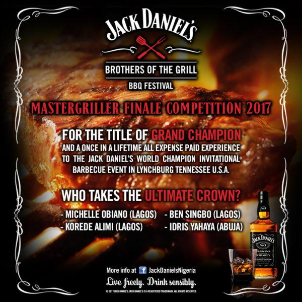 Jack Daniel's mastergriller competition