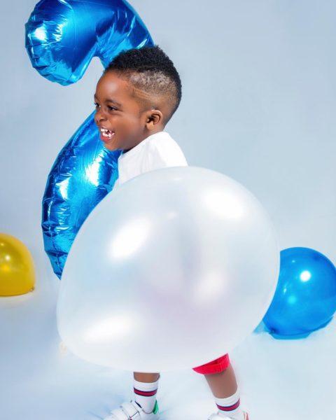 BellaNaija - Jam Jam is 2! Tiwa Savage celebrates Her Son's Birthday with Cute Photos