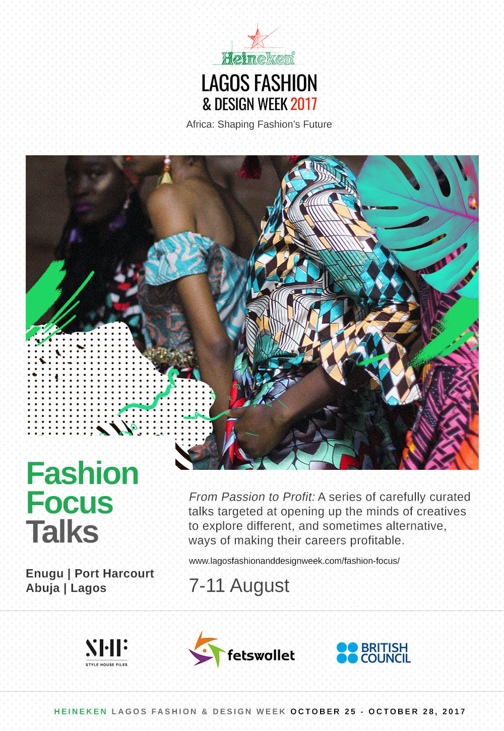 "HeinekenLFDW 2017 - ""Africa: Shaping Fashion's Future"""