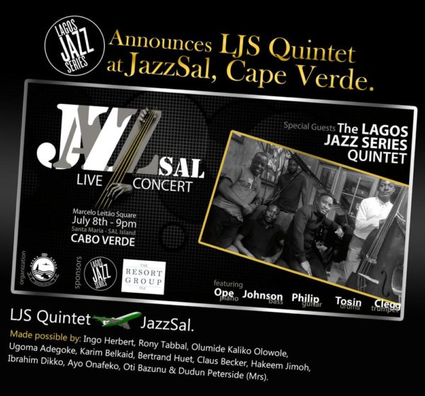 lagos jazz series