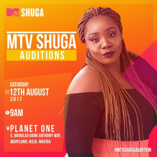 Calling all budding stars! Audition for MTV Shuga Season 6 | Saturday, August 12th