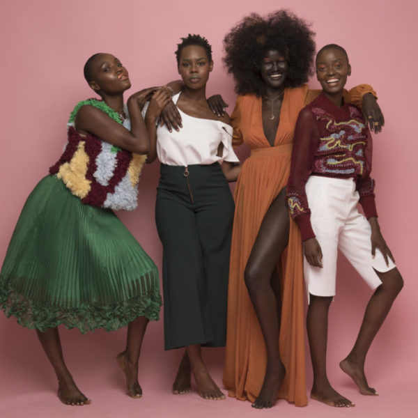Melanin beauties Fola Adeoso, Tanyka Renee, and others Feature in The Coloured Girl X Nubian Skin's Full Bloom Campaign (9)