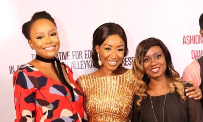First Photos: Denrele Edun, Beverly Osu, John Ogah at Premiere of Everything in Between