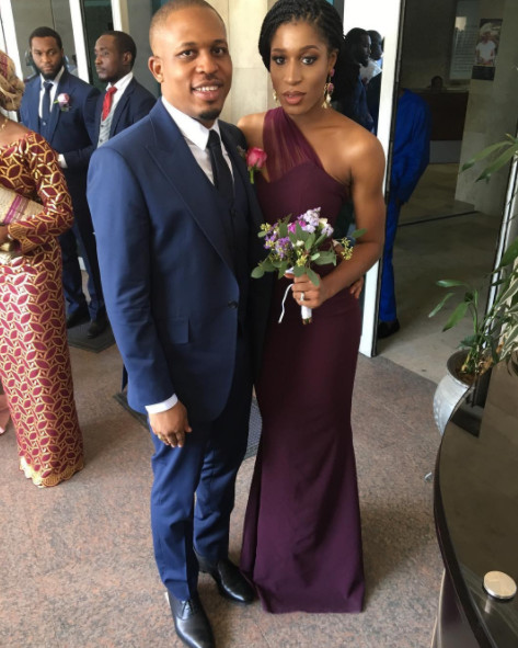 Naeto C and wife Nicole celebrate 5th Wedding Anniversary