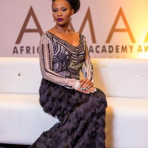 BN Red Carpet Fab: Nse Ikpe-Etim looks stunning at AMAA 2017