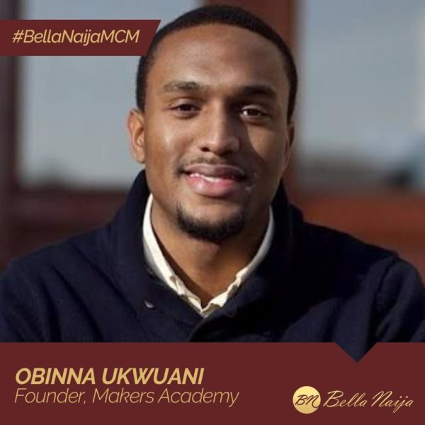 Equipping the Youth for the Future! #BellaNaijaMCM Obinna Ukwuani is starting Nigeria's First STEM-focused school