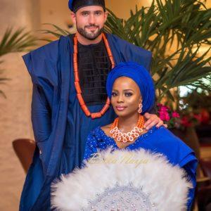 BN Weddings presents Official Photos from #StabiEverAfter! Busayo Makinwa & Stian Fossengen's Traditional Wedding
