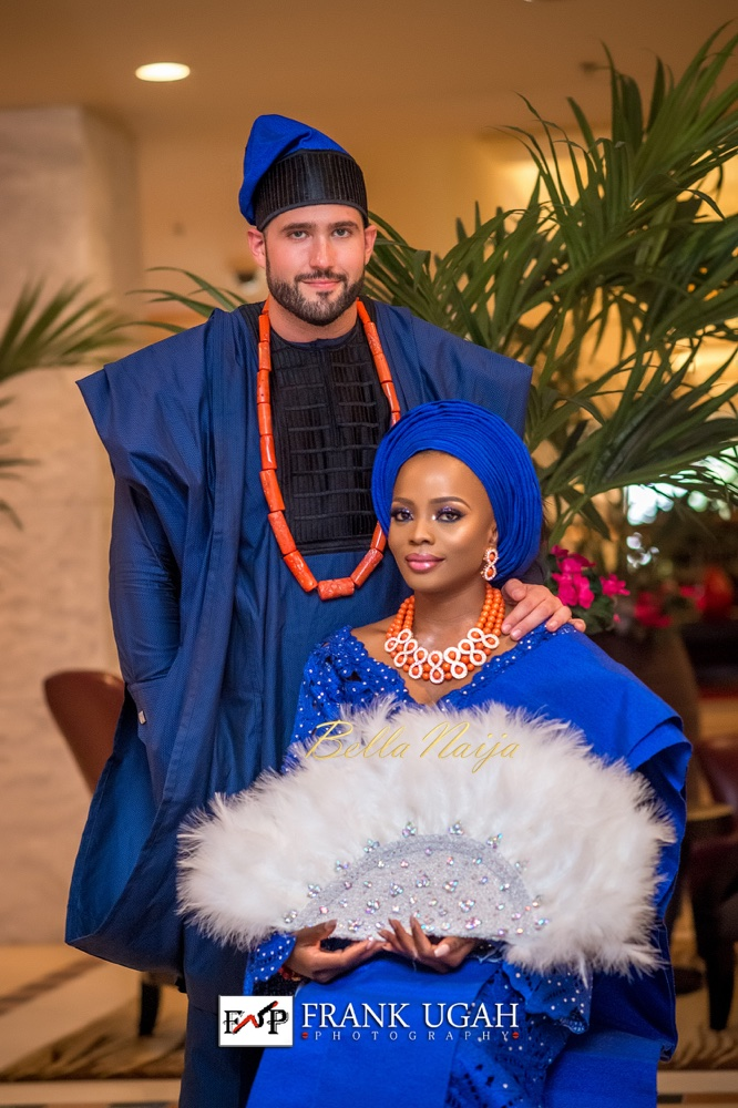 BN Weddings presents Official Photos from #StabiEverAfter! Busayo Makinwa & Stian Fossengen's Traditional Wedding