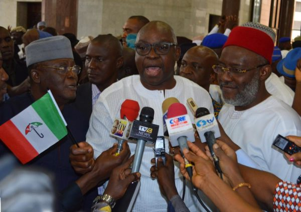 FG's plan to make Hate Speech Treasonable a bid to Silence Opposition - Fayose