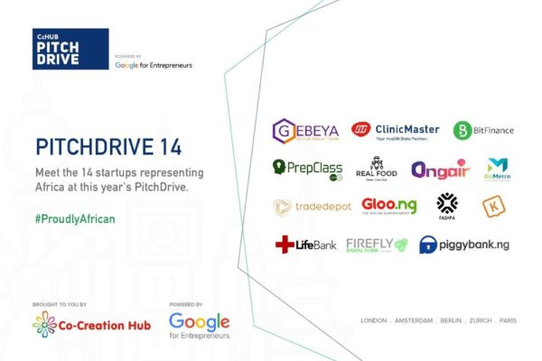 Meet 14 African Startups traveling across Europe to raise €20M Funding in CcHub's Pitch Drive
