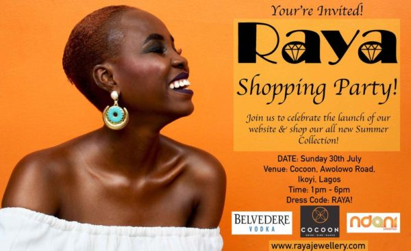 Raya jewellery Shopping party