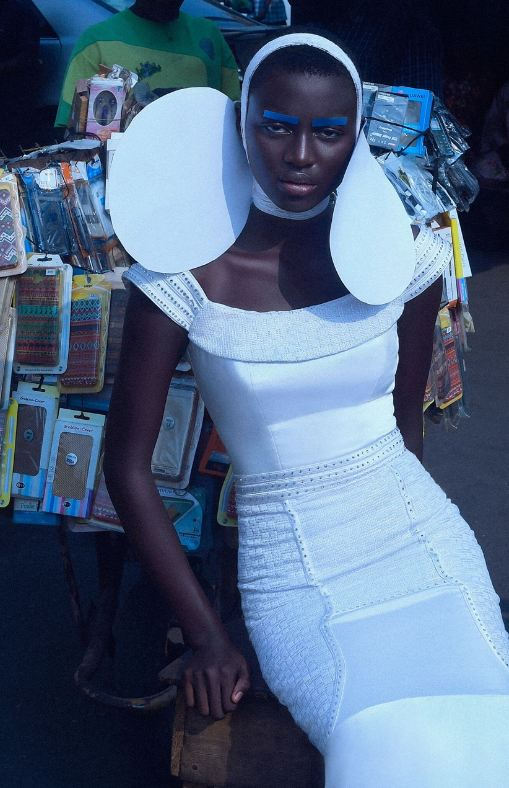 Renowned Nigerian designer, Folake Majin, featured in Vogue Italia - Bella Naija