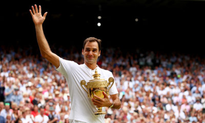 ATP Rankings: Roger Federer moves up after Record-Breaking 8th Wimbledon Title