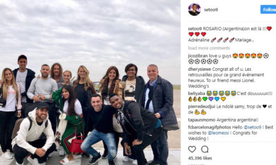 Eto'o, Xavi, Fabregas Arrive Argentina for Messi's Wedding Party