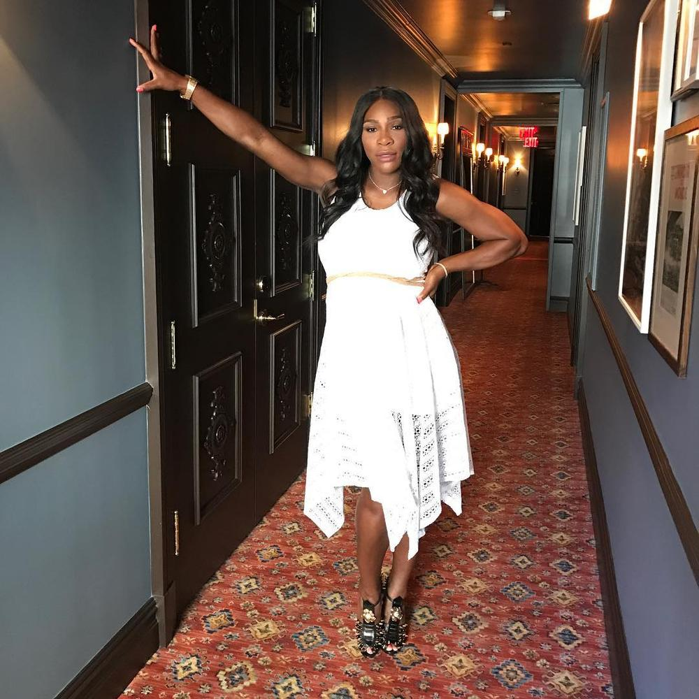 BellaNaija - My guilty pleasure is buying properties - Serena Williams | WATCH