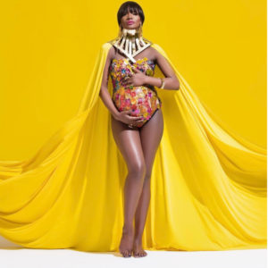 Tanzanian Super Model and New Mummy Ladiva Millen Shows off beautiful Baby Bump Photos Oye Dira Photography