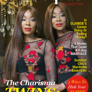 The Charisma Twins Muka Nwokedi & Princess Nina Agwuna Grace the latest issue of Glamsquad Magazine (1)