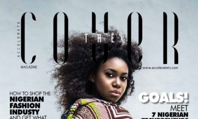 "Watch Niniola's Style Interview on Accelerate TV's July Edition of ""The Cover"""