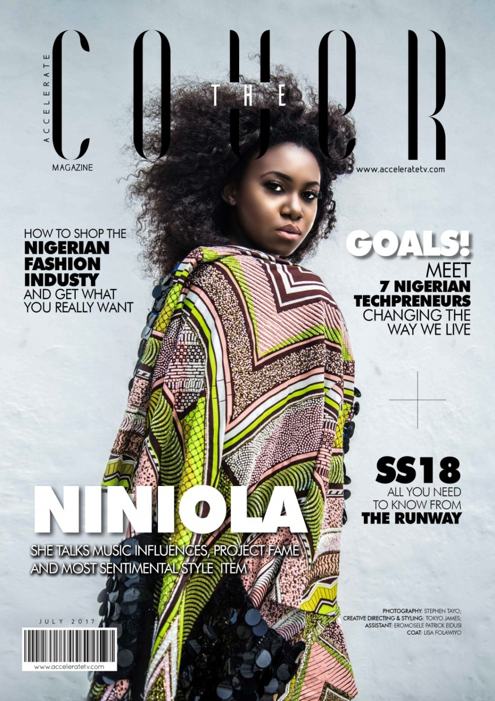 """Watch Niniola's Style Interview on Accelerate TV's July Edition of """"The Cover"""""""
