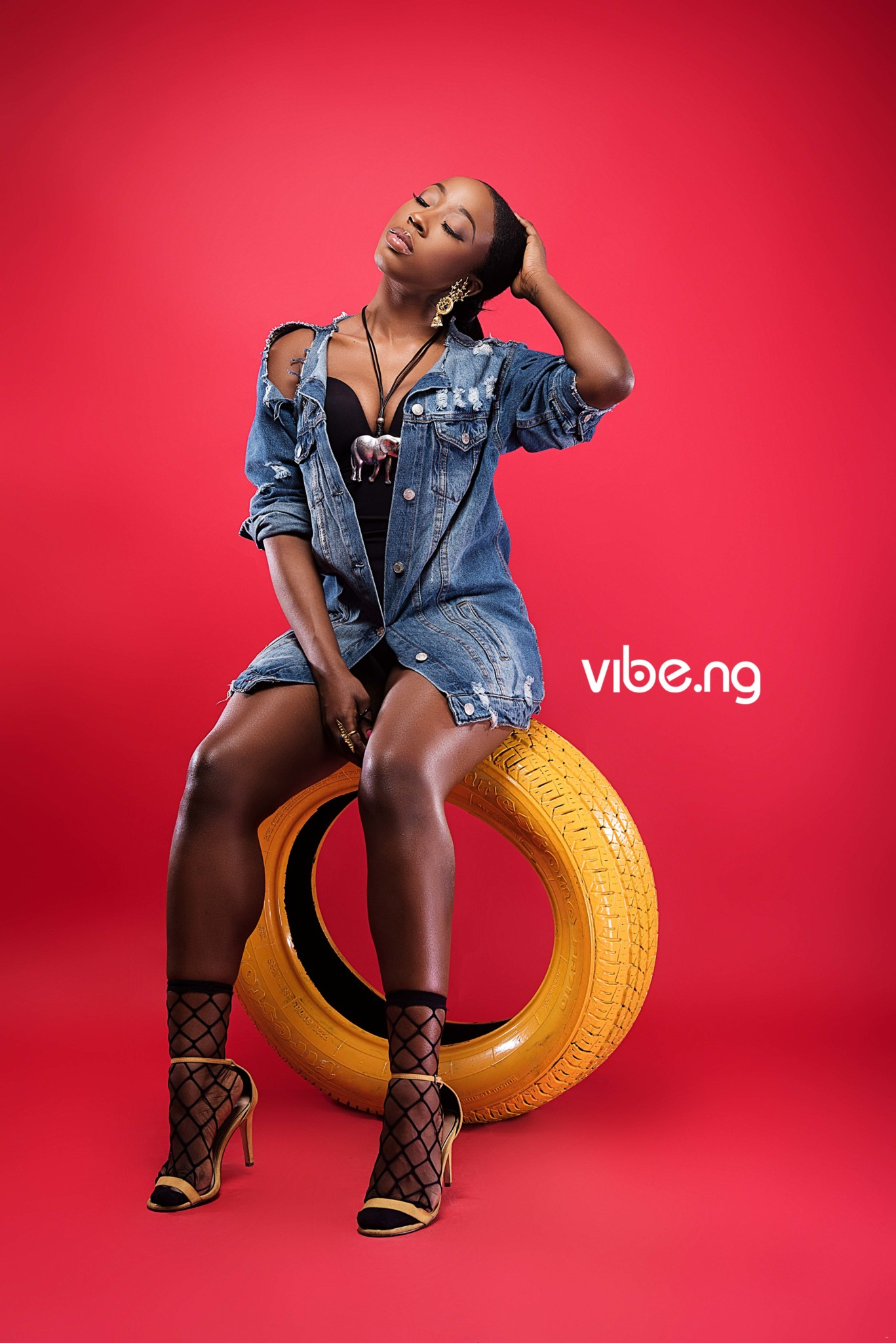 Too Much Sauce! Beverly Naya is Hot on the Cover of Vibe.ng Magazine (8)