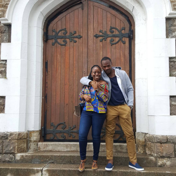 #BNBling: Toyosi Phillips announces Engagement to Etim Effiong