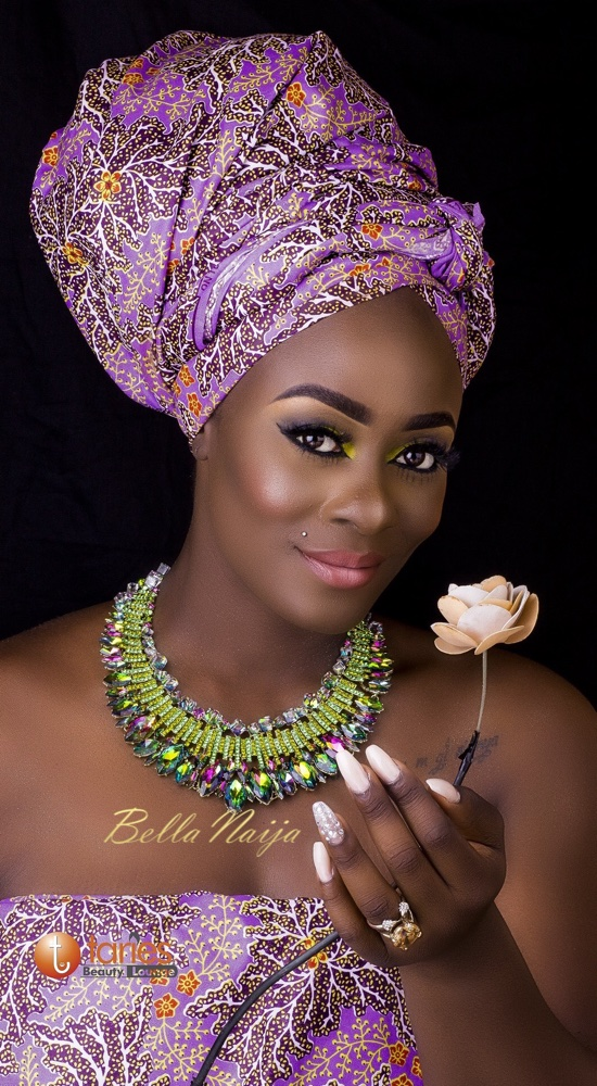 BN Beauty presents #BBNaija's Uriel Oputa in an African inspired Shoot