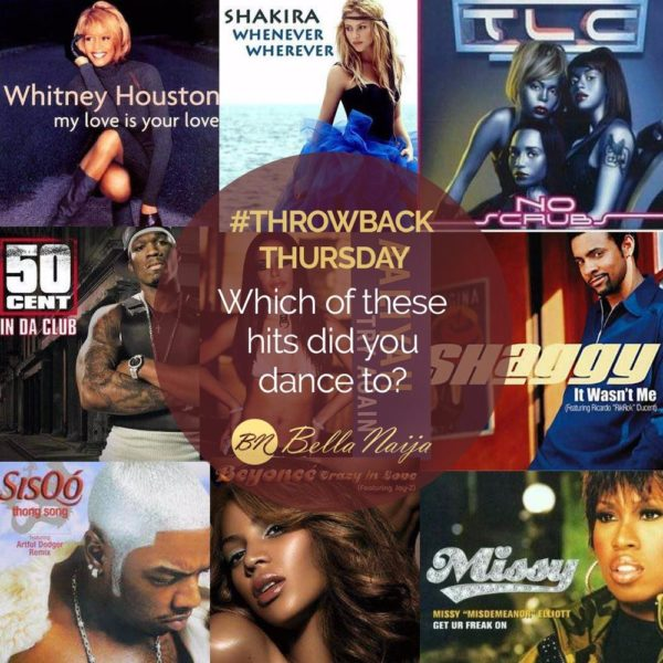 #ThrowbackThursday: Which of these hits did you dance to?