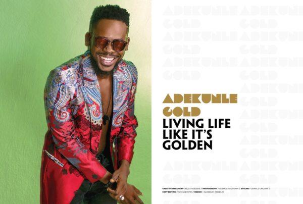 Adekunle Gold shines on the Cover of Bold Africa Magazine