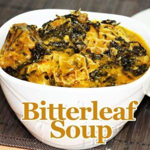 BN Cuisine: Bitterleaf Soup (Ofe Onugbu) by All Nigerian Recipes | Watch