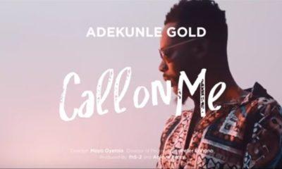 BellaNaija - New Video: Adekunle Gold - Call On Me