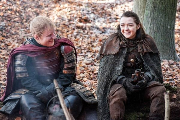 Ed Sheeran makes Cameo appearance in #GameOfThrones