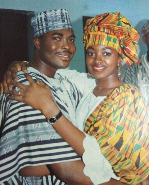 Check out this Throwback photo of Kate Henshaw and Emeka Ossai
