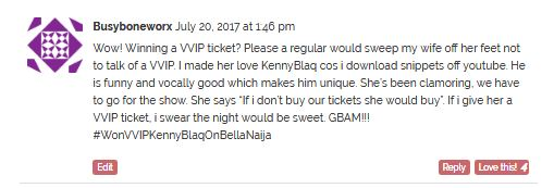 "BellaNaija - Exclusive To BellaNaijarians! One Lucky Person to win 2 VVIP Tickets to ""The Oxymoron of KennyBlaq"" - Find Out How To Win"
