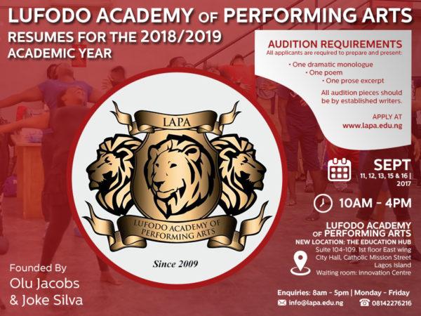 Lufodo Academy Performing Arts