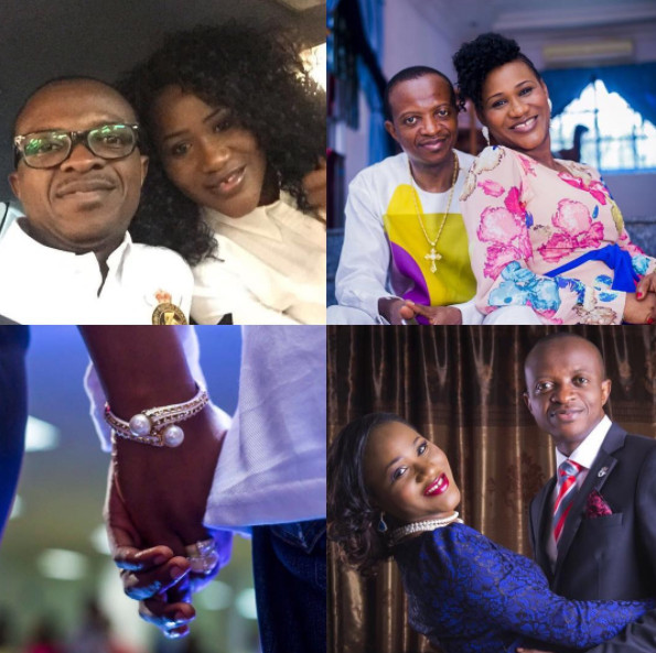 The love we share is divine - David Adeoye wishes wife Sunmbo a happy Wedding Anniversary