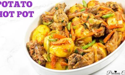 BN Cuisine: A Recipe for Cameroonian Potato Hot Pot on Precious Kitchen