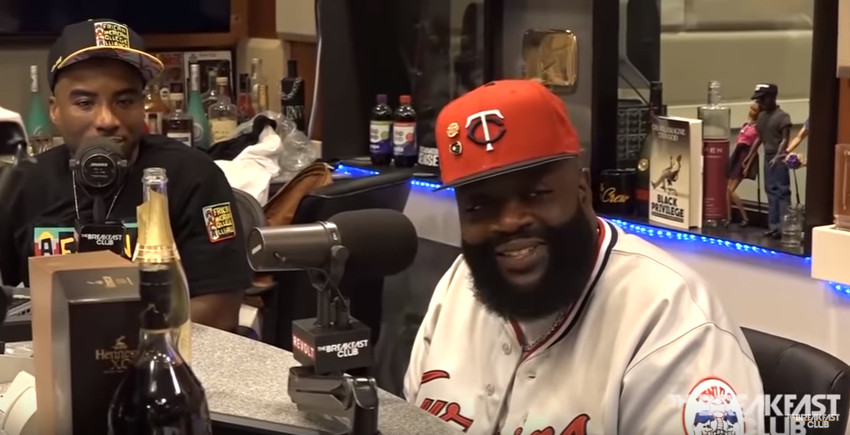I'm spending so much money on her photo shoots, I gotta hit it a couple times - Rick Ross discusses why he hasn't signed a female to MMG